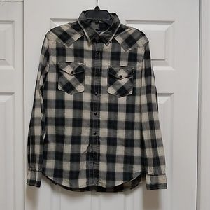 American Eagle Vintage style Western Shirt